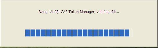 cài đặt token ca2 như thế nào