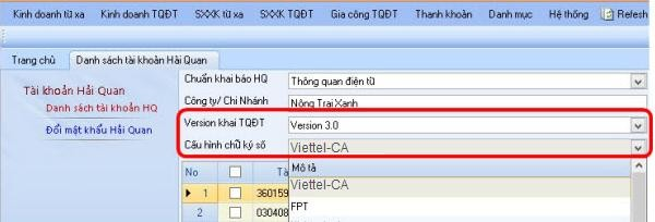 Cấu hình chứng thư số Viettel-CA trên phần mềm CDS Live+