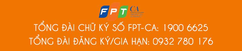 tổng đài chữ ký số fpt ca