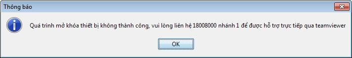 mở khóa token viettel không thành công