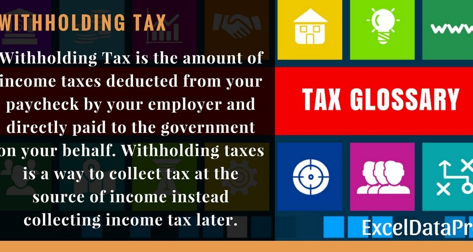 Withholding Tax la gi