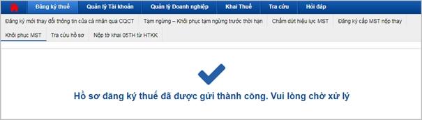 etax khoi phuc mst 8
