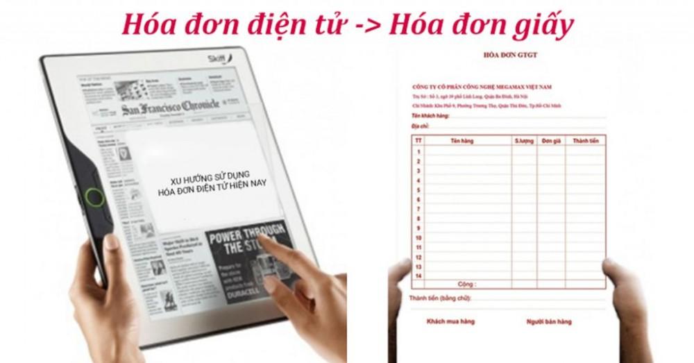 hóa đơn giấy, hóa đơn bán hàng, hóa đơn điện tử, hóa đơn trực tiếp